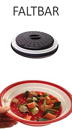 Ventilado abatible Microondas Cubierta y como Tamiz utilizable ...