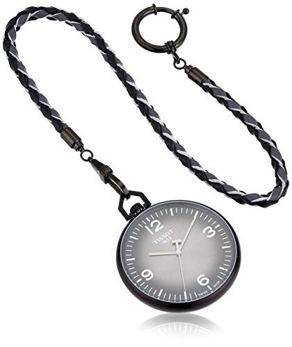 Tissot Unisex Lepine Swiss Quartz Alluminum Pocket Watch (Model: T8634099906700)