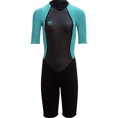 O Neill Women s Reactor-2 2mm Back Zip Short Sleeve Spring Wetsuit 1f7a45244