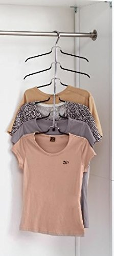 Organize It All  6 Tier Blouse Tree Hanger - bedroomdesign.us