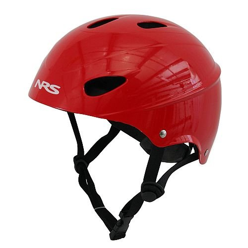 NRS Havoc Livery Helmet Red One Size (Helmet Whitewater)