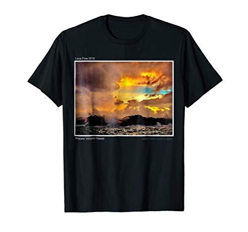 Kilauea Volcano Lava Flow Hawaiian T-Shirt