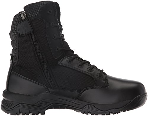 Magnum Mens Strike Force 8 Side Zip Waterproof Military and Tactical Boot Black fCvcVaP