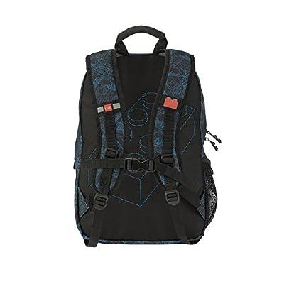LEGO Kids' Heritage Backpack, Black, One Size | Casual Daypacks