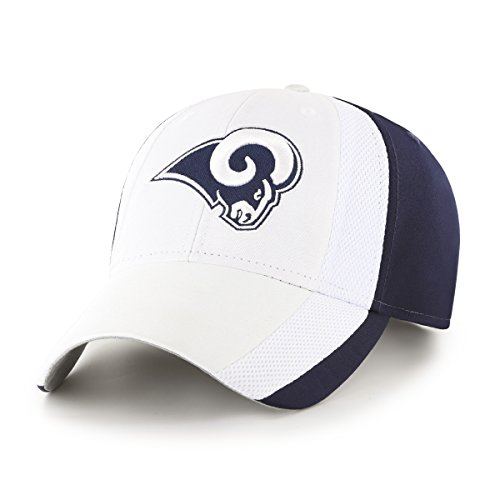NFL Los Angeles Rams Adult Select Ots All-Star MVP Adjustable Hat, One Size, Light (Vintage Baseball Teams)