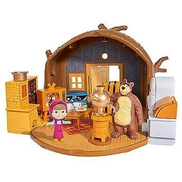 De Y Accesoriossimba Del Figuras 9301632 Oso 2 Casa Playset Masha Con El OXTkPZuwi