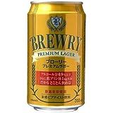 ブローリープレミアムラガー 355ml缶×24本入×(2ケース)