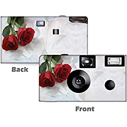 5 Pack Simple Elegance Disposable Cameras, Wedding Camera, Anniversary Camera, Sweet 16, Quinceañera, party cameras from CustomCameraCollection WM-3602-C