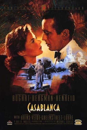 ShopForAllYou Posters & Prints Casablanca - Movie Poster/Print (50TH Anniversary) (Size: 27