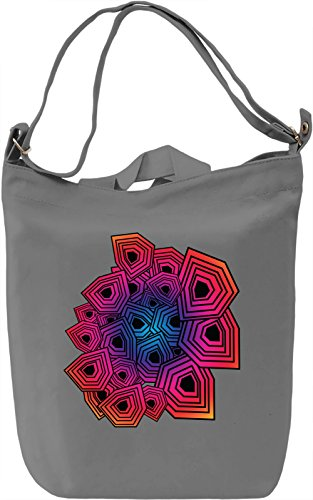 Colourful Polygons Borsa Giornaliera Canvas Canvas Day Bag| 100% Premium Cotton Canvas| DTG Printing|