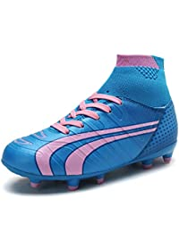 1c6f518c7 Boys Girls Athletic Soccer Football Cleats Shoes(Toddler Little Kid Big Kid)