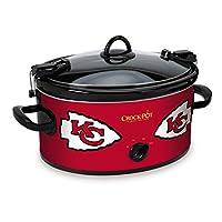Crock-Pot Kansas City Chiefs NFL 6-Quart Cook & Carry Slow Cooker