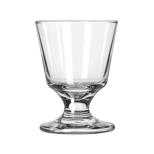 Libbey Embassy Footed Rocks Glass, 5.5 Ounce - 24 per case.