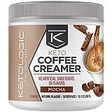 KetoLogic Ketogenic MCT Oil Coffee Creamer Powder – Low-Carb, Keto, Paleo-Friendly – Mocha – 30 Servings