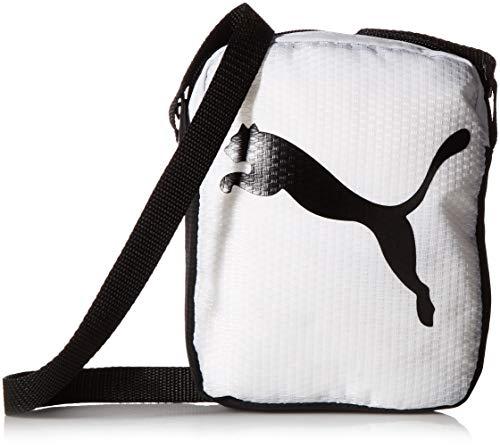 PUMA Women's Uniform Cross Body Shoulder Bag, White, One Size (Handbag Puma White)