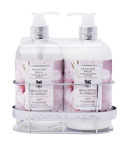 Upper canada soap brompton and langley hand body wash and Hand wash and lotion caddy
