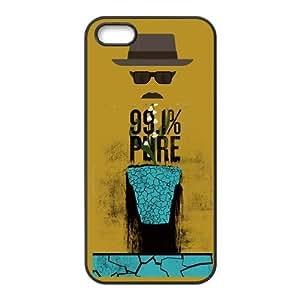 Custom Breaking Bad Design Rubber TPU Case for Iphone 5 5S
