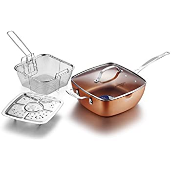 Amazon Com Gotham Steel Titanium Ceramic 9 5 Non Stick