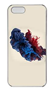 poetic covers colored liquid PC Transparent Case for iphone 5/5S