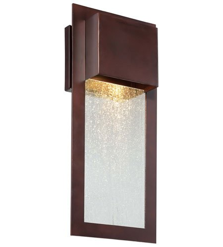 Minka Lavery 72382-246, Westgate, 1 Light Wall Mount, Alder Bronze by Minka Lavery