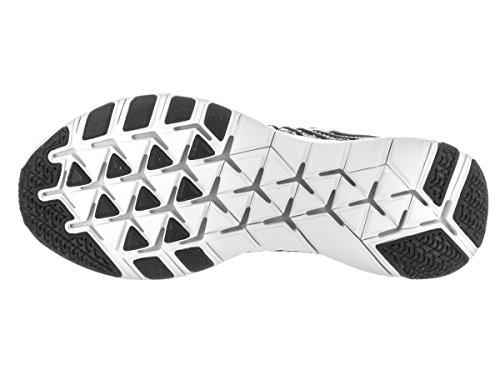 Nike Heren Vrije Tr Kracht Flyknit Training Schoen Zwart / Wit / Volt