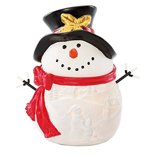 SCENTSY FULL WARMER BUILD A SNOWMAN SOLD OUT!!! FROSTY CHRISTMAS (Snowman Wax)