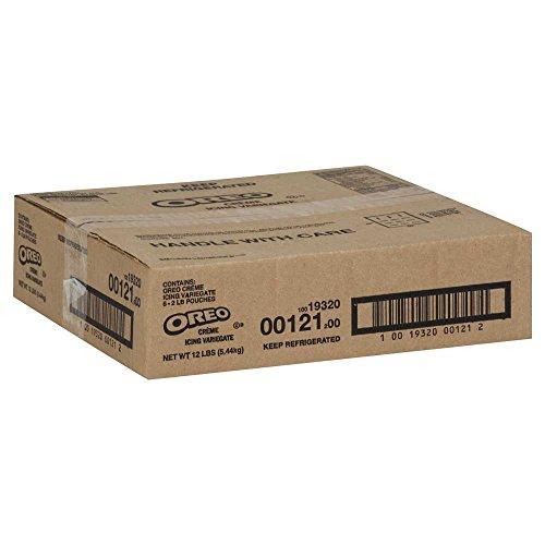 Sandwich Creme Cookies Case (Oreo Variegate Oreo Creme, 2 Pound -- 6 per case.)