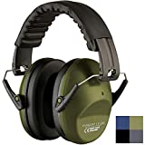 Ear Protection for Shooting - Compact Foldable Portable Hearing Protection Safety Earmuffs