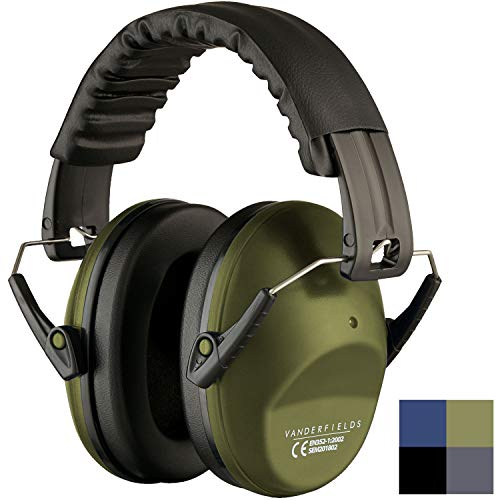 Ear Protection for Shooting - Compact Foldable Portable Hearing Protection Safety Earmuffs for...
