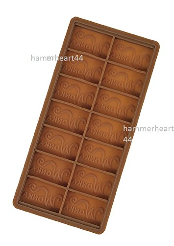 Willy Wonka Diy Chocolate Factory Bar Casting Mold Mould 7