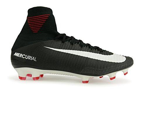 Nike Herren Mercuriel Superfly V Df Fg Fußballschuhe Noir / Noir-blanc