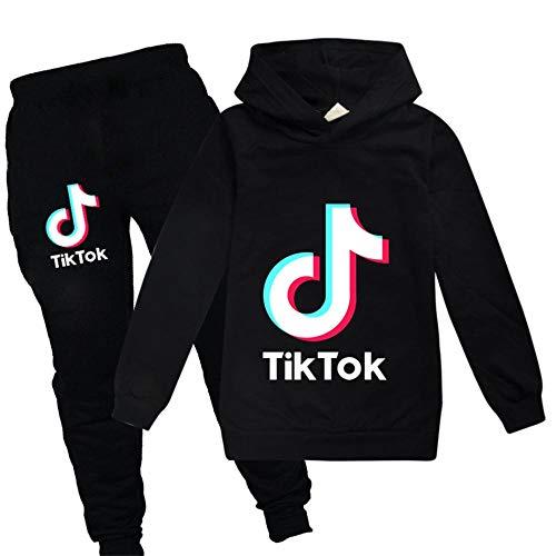xxLvOG TIK tok Zomer Casual wear Jongens en Meisjes Trui + Casual Broek Pak
