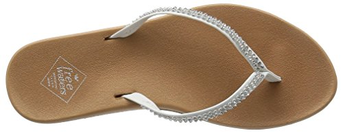Freewaters Wandsandelsandalen White / Tan