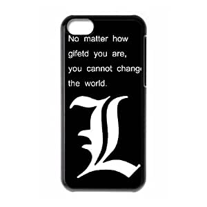 iPhone 5c Cell Phone Case Black Death Note 001 SYj_755168
