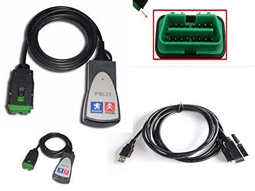 Scanner automotivo Lexia PP2000 Para Carros Peugeot e Citroen