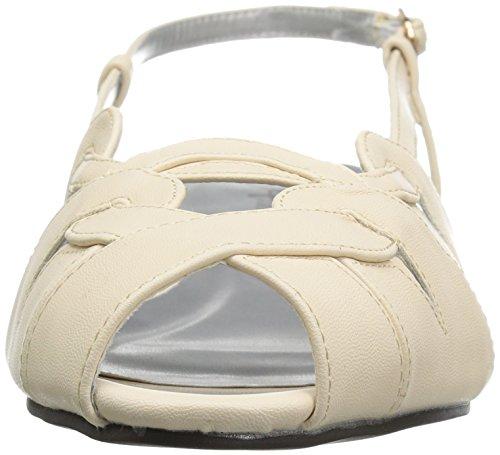 Annie Chaussures Femmes Kim Large Veau Wedge Sandale Nu