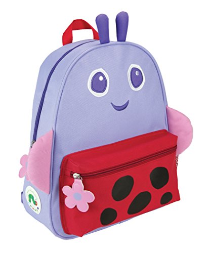 Eric Carle Ladybug - Kids Preferred The World of Eric Carle, The Very Hungry Caterpillar & Friends Ladybug Backpack, 14