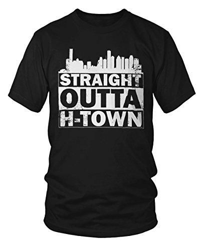 Straight Outta H-Town Distress Houston Texas NWA T-Shirt