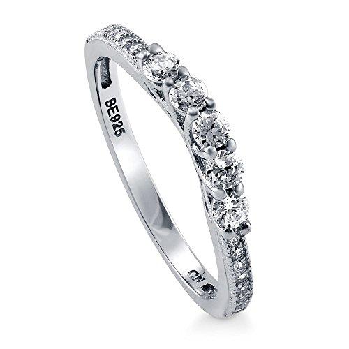 5 stone cz ring - 4