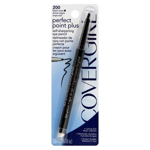 CoverGirl Self-Sharpening Eye Pencil, Black Onyx, 0.08 oz