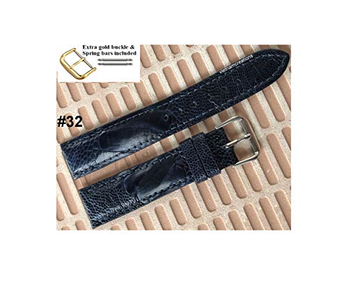 20mm Genuine CROCODILE/ALLIGATOR Skin Leather Watch Strap Band for men Handmade