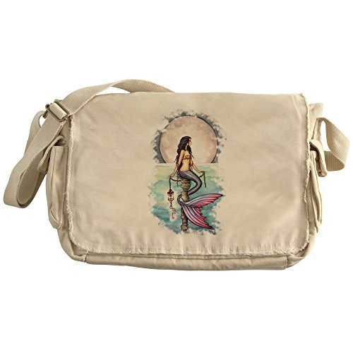 CafePress - Enchanted Sea Mermaid Art By Molly Harrison Messen - Unique Messenger Bag, Canvas Courier Bag