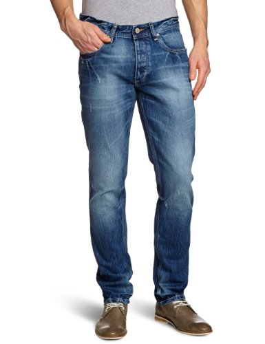 JACK & JONES - Jack & Jones Tim Original Jos 159, Jeans da uomo, blu (blau  (washed 001)), 50 IT (36W/34L)