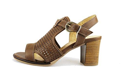 IGI&CO Sandalias mujer marrón cuero AG446