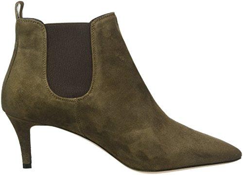 Oxitaly Sara 31, Zapatillas de Estar por Casa para Mujer Verde Oscuro