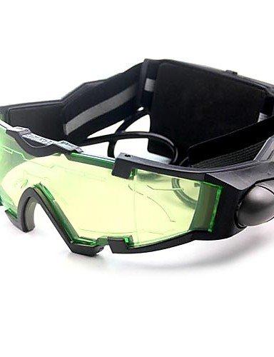 PIGE Luces gafas de visión nocturna con el azul del tirón de salida LED PIGE UK
