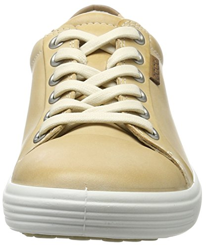 7 Beige Soft Sneaker Ladies Ecco Powder Damen qEp68w6nP