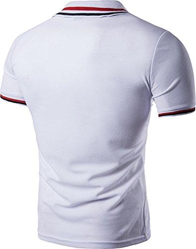 Sportides - Polo - para hombre blanco