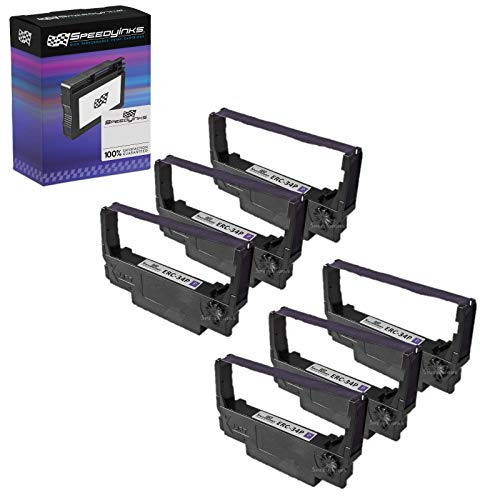 (Speedy Inks Compatible Ribbon Replacement for Epson ERC-34P (Purple))