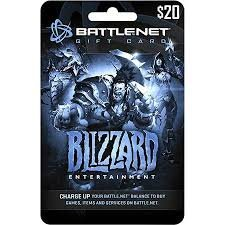 BattleNet Pre-Paid Game Card $20